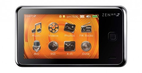 MP3 Player Creative Zen X-Fi 2 im Test, Bild 1