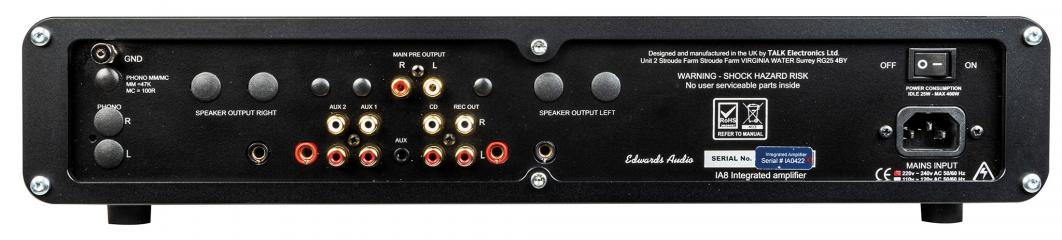 Vollverstärker Edwards Audio IA8 im Test, Bild 1