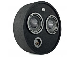 Car-Hifi Subwoofer Gehäuse Gladen Audio RS 08 RB DUAL im Test, Bild 1