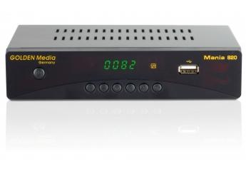 DVB-T Receiver ohne Festplatte Golden Media Mania 820 im Test, Bild 1