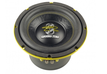 Car-Hifi Subwoofer Chassis Ground Zero GZHW 10XSPL-D1 im Test, Bild 1
