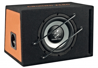 test car hifi subwoofer geh use ground zero gzrb 120xspl. Black Bedroom Furniture Sets. Home Design Ideas