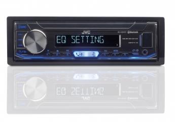 1-DIN-Autoradios JVC KD-X351BT im Test, Bild 1