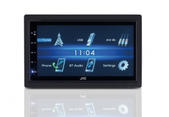 Moniceiver JVC KW-M25BT im Test, Bild 1