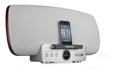 AirPlay-Speakersystem Marantz Consolette MS 7000 im Test, Bild 1
