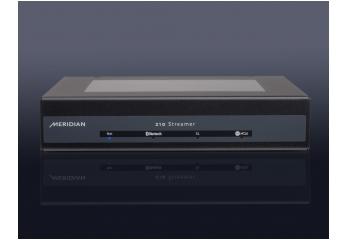 Musikserver Meridian 210 im Test, Bild 1