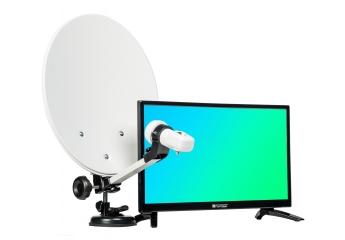 Sat-Anlagen Opticum Travel TV Camping Set EasyFind 20 im Test, Bild 1