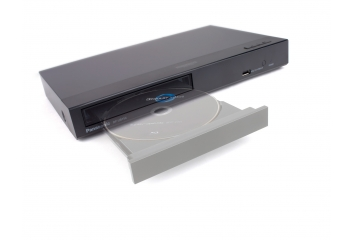 Blu-ray-Player Panasonic DP-UB154 im Test, Bild 1