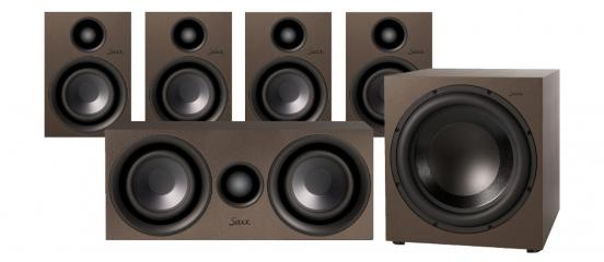Lautsprecher Surround Saxx curvedSound CR 5.1 im Test, Bild 1