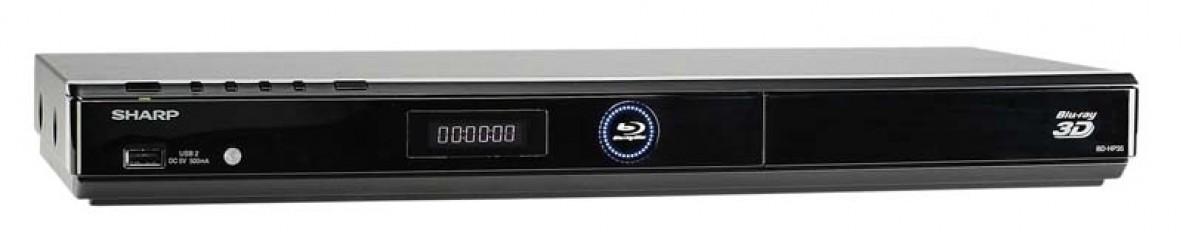 Blu-ray-Player Sharp BD-HP35S im Test, Bild 1
