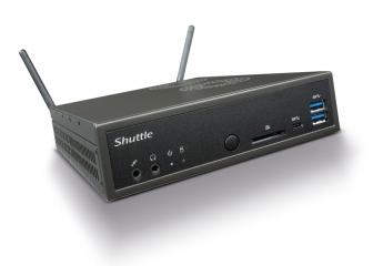 PC Shuttle XPC slim Barebone DH270 im Test, Bild 1