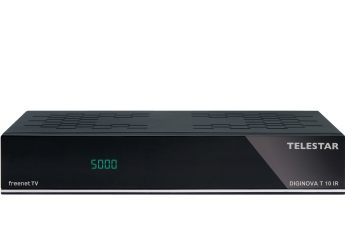 DVB-T Receiver ohne Festplatte Telestar Diginova T 10 IR im Test, Bild 1