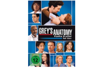 DVD Film Walt Disney Grey´s Anatomy - Season 5.1 im Test, Bild 1