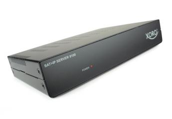 Sat Receiver ohne Festplatte Xoro Sat>IP Server 8100 im Test, Bild 1