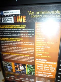 DVD Musik 3 Doors Down Away from the Sun: Live in Houston, Texas im Test, Bild 2