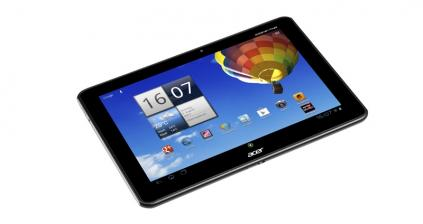 Tablets Acer Iconia Tab A510 im Test, Bild 2