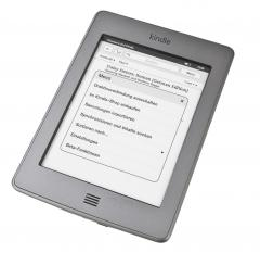 E-Book Reader Amazon Kindle Touch im Test, Bild 2