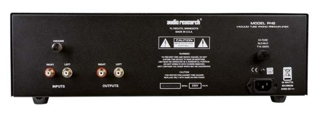 Phono Vorstufen Audio Research PH6 im Test, Bild 5
