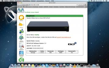 DLNA- / Netzwerk- Clients / Server / Player Ava Media Rip-n-Play, Ava Media Maestro-50 im Test , Bild 2