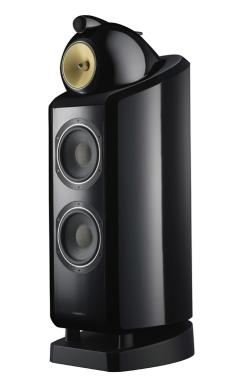 test lautsprecher stereo b w bowers wilkins 802. Black Bedroom Furniture Sets. Home Design Ideas