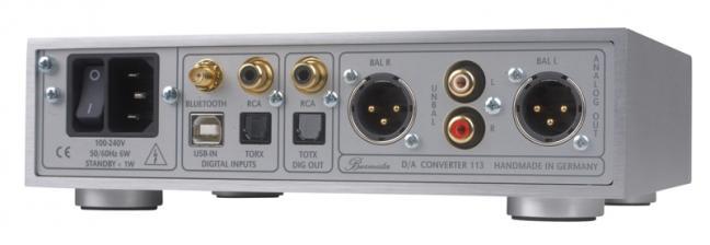 Test D/A-Wandler - Burmester 113