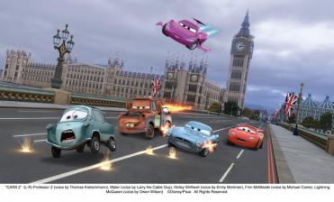 Blu-ray Film Cars 2 (Walt Disney) im Test, Bild 2