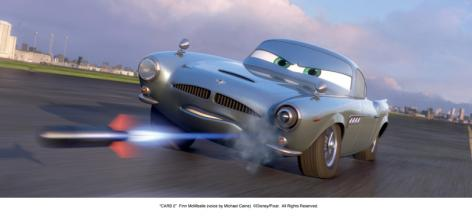 Blu-ray Film Cars 2 (Walt Disney) im Test, Bild 3