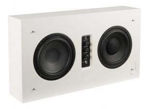 test lautsprecher surround dls flatsub one flatbox midi sehr gut seite 1. Black Bedroom Furniture Sets. Home Design Ideas