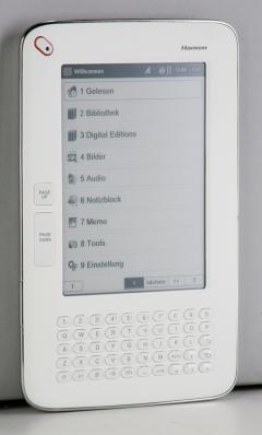 E-Book Reader Hanvon WISEreader N526 im Test, Bild 4