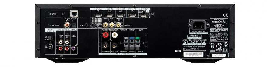 AV-Receiver Harman Kardon AVR151 im Test, Bild 3