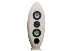 test lautsprecher stereo hifi sound design obelisk 1. Black Bedroom Furniture Sets. Home Design Ideas