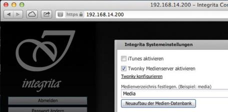 Musikserver Integrita Audiophile Music Server im Test, Bild 6