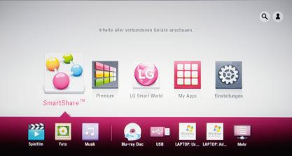 Blu-ray-Player LG BP430 im Test, Bild 2