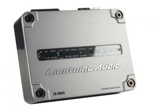 Car-HiFi Endstufe Mono Lightning Audio LA-1600MD, Lightning Audio LA-8004 im Test , Bild 6