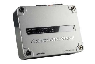 Car-HiFi Endstufe Mono Lightning Audio LA-1600MD, Lightning Audio LA-8004 im Test , Bild 5