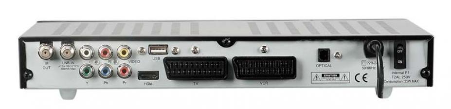 test sat receiver ohne festplatte logisat 2750hd sehr gut. Black Bedroom Furniture Sets. Home Design Ideas