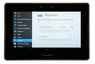 Tablets RIM Blackberry PlayBook im Test, Bild 16