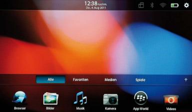 Tablets RIM Blackberry PlayBook im Test, Bild 18