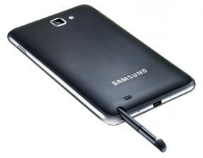 Tablets Samsung GT-N7000 Note im Test, Bild 2