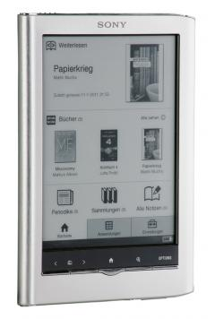 E-Book Reader Sony PRS-650 Touch im Test, Bild 12