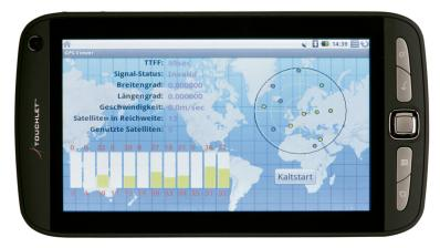 Tablets Touchlet X2 GPS im Test, Bild 2