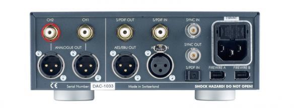 Test D/A-Wandler - Weiss Engineering DAC 202
