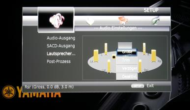 Blu-ray-Player Yamaha BD-A1010 im Test, Bild 3