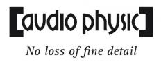 Firmenlogo audio physic